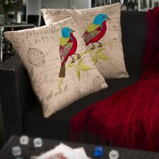 Bird Pillow (Set of 2)