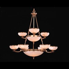 European Classic 8 Light Chandelier