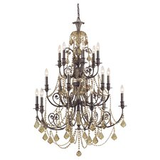 Regis 18 Light Chandelier