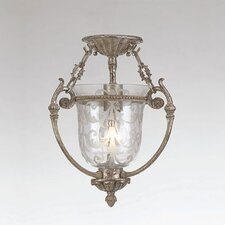 La Vella 1 Light Semi Flush Mount