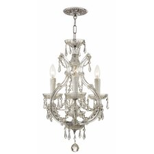 Maria Theresa 3 Light 60W Chandelier