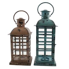 Noah Metal Lantern (Set of 2)