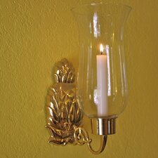 Pineapple Hurricane Sconce