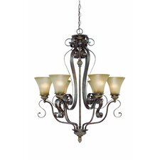 Kingsley 6 Light Chandelier