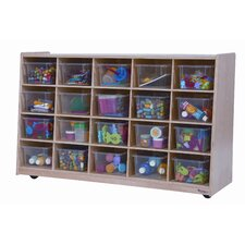 Tip-Me-Not Twenty Tray Storage Unit