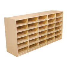 "Storage Unit with 3"" 30 Letter Trays"