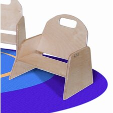 "Woodie 5""  Plywood Classroom Stackable Tot Chair"