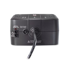 Back-UPS ES 350 Battery Backup System, Six-Outlet, 350 Volt-Amps