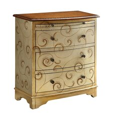 4 Drawer Chairside Accent Chest