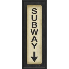 Subway Down Wall Art