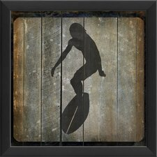 Surfer III Wall Art