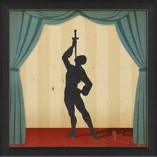 Stage Sword Swallower Wall Art