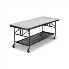Mobile Utility Table, Laminate Top