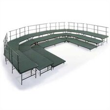 Choral Riser Base Set with Hardboard Deck