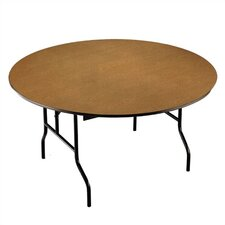 Round Banquet Table with Padded Top