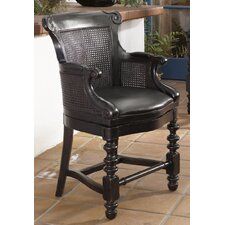 Kingstown Dunkirk Swivel Bar Stool in Tamarind
