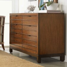 Ocean Club Palm Bay 6 Drawer Dresser