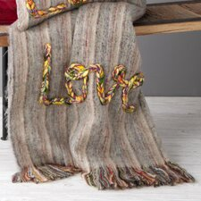 Love Recycled Wool / AcrylicThrow