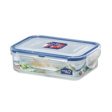 360ml 2 Compartment Rectangular Food Container