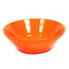 "Terracotta 11"" V-Shaped Bowl"