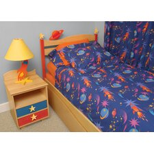 Star Rocket 3 Piece Comforter Set