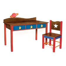 Star Rocket Kids' 2 Piece Table and Chair Set