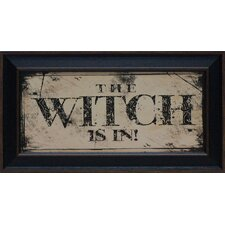 The Witch Framed Art