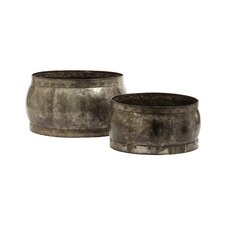 Fortress Barrel Bowl 2 Piece Set