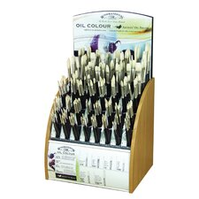 Aobrush Hog Bristle Oil Brush Display Assortment