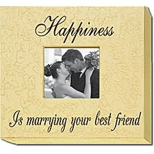 Happiness Is Marrying Your Best Friend Home Frame