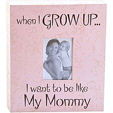 When I Grow Up...Mommy Child Frame