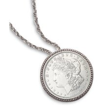Morgan Dollar Pin/Pendant