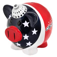 NHL Large Piggy Bank