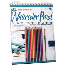 Essentials Artist Pack Paper and Media Watercolor Pencil