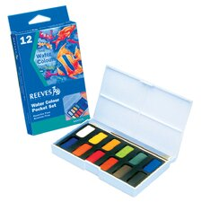 Watercolor Pocket Set (Set of 12) (Set of 12)