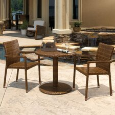 St Barths 3 Piece Bistro Dining Set