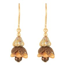 Little Fairy Lantern Goldplated Surgical Steel Earrings