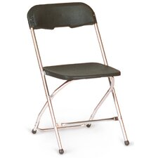 Chrome Series 5 Plastic Folding Chair