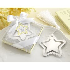 ''A Star is Born!'' Bookmark with White-Silk Tassel