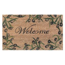 Olive Branch Welcome Doormat