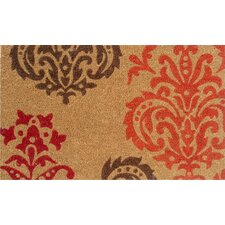Orange Baroque Doormat