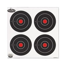 "Dirty Bird 5.5"" Round Paper Target (12 Per Pack)"