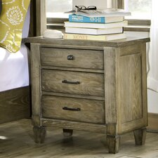Brownstone Village 3 Drawer Nightstand