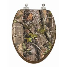 RealTree Camouflage Elongated Toilet Seat