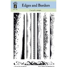 Edges & Borders Clear Stamp Set