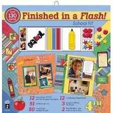 School Scrapbook Kit