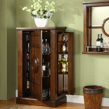Dublin Old World Armoire Bar Cabinet