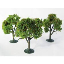 Architectural Model Orange Tree (Set of 3)