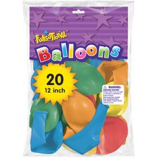 "12"" Funsational Balloon (Set of 20)"