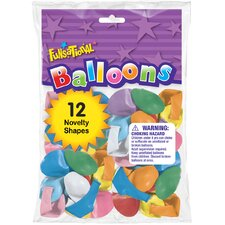 Funsational Balloon (Set of 12)